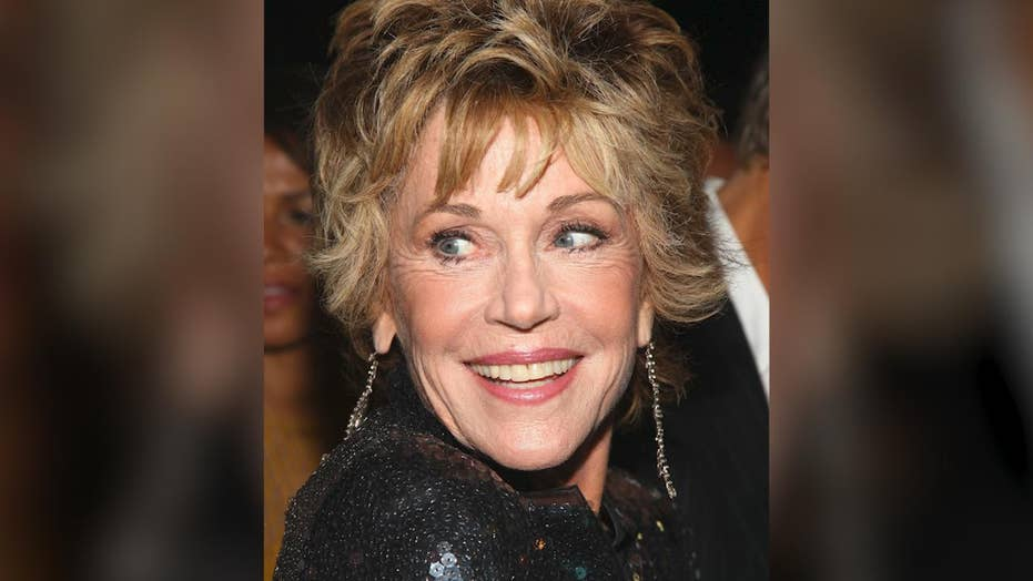Jane Fonda says coronavirus is 'God's gift to the left' because it could help Biden defeat Trump