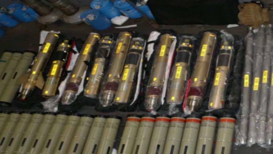 US Navy seizes Iranian missile parts bound for Yemen
