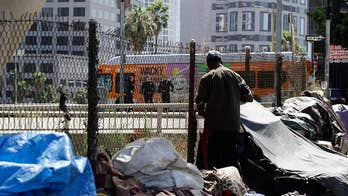 Liberal cities relocating homeless populations