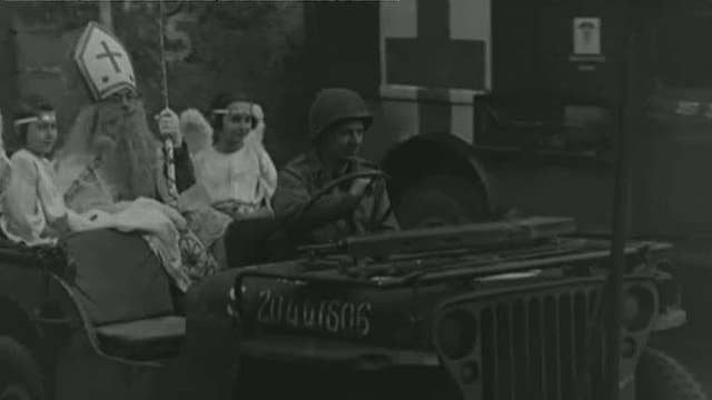75 years since US troops brought Christmas to kids during WWII