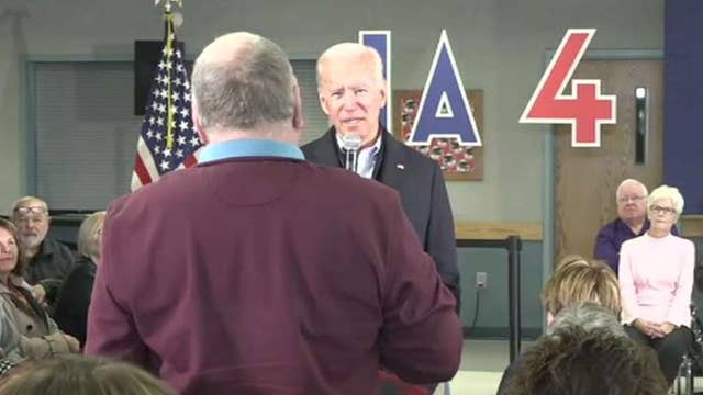 Fallout from Joe Biden's verbal confrontation with Iowa voter