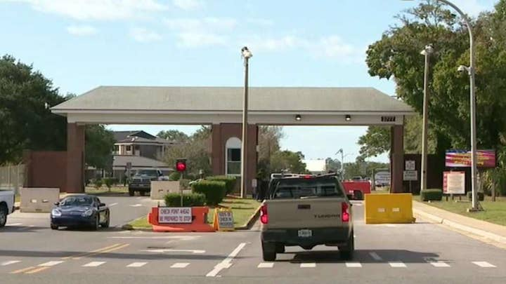 Gunman kills three at Naval Air Station Pensacola in Florida