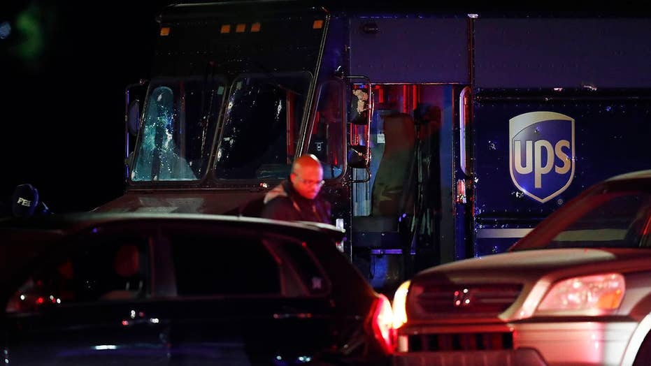 Four dead after police chase with stolen UPS truck ends with gunfire in Florida