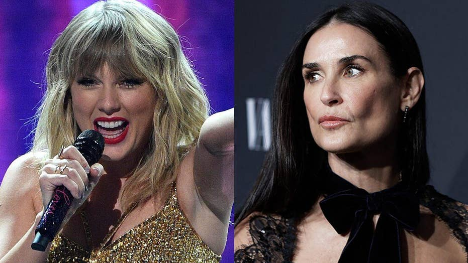 Demi Moore's memoir grabs Taylor Swift's attention and praise