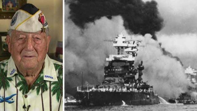 WWII veteran recounts Pearl Harbor attack