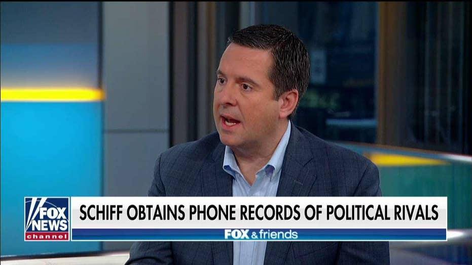 House Intel Ranking Member Devin Nunes will pursue legal action on exposed phone records