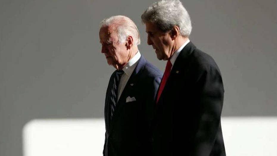 Joe Biden gets John Kerry 2020 endorsement