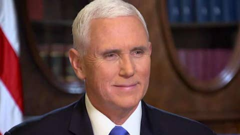 Vice President Pence sets record straight on Ukraine on 'Justice'