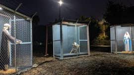 California church's 'protest Nativity' displays Jesus, Mary and Joseph in cages, separated at border