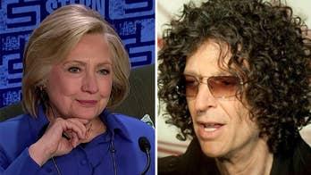 Hillary does Howard Stern