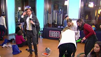 Fox staffers build bikes for USO Operation That's My Ride