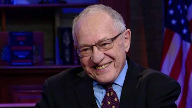 Alan Dershowitz says it would be unconstitutional for President Trump to be impeached by current inquiry