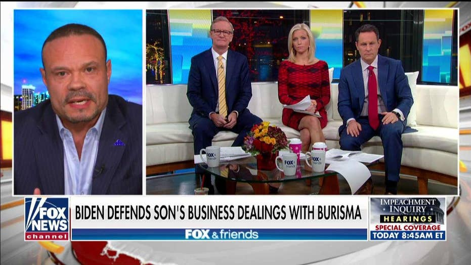 Bongino hits back at Biden's latest defense over Ukraine allegations