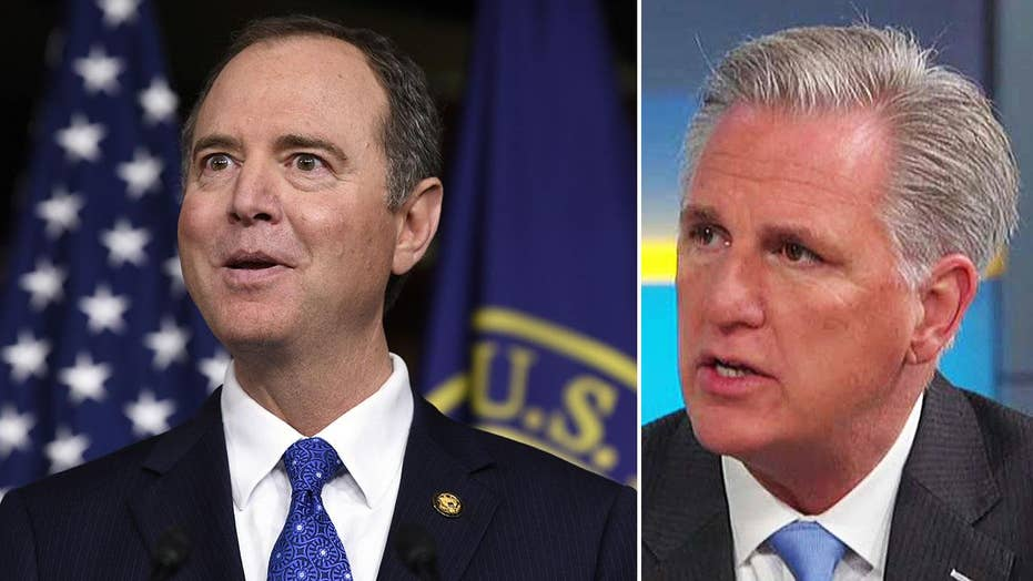 Rep. McCarthy: Adam Schiff will lie and do anything to impeach President Trump