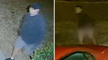 鈥楶antsless prowler鈥� lurking in North Carolina neighborhood sought by police after being caught on video