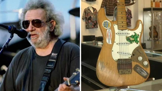 Jerry Garcia's guitars up for auction