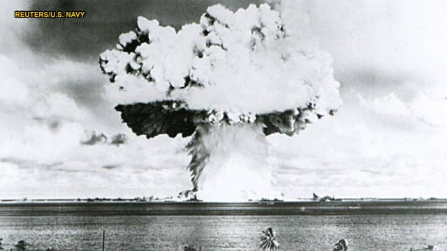 Scientists mapping Bikini Atoll test craters reveal 'nuclear battlefield'