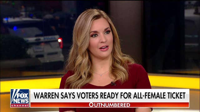 'Outnumbered' on Elizabeth Warren's claim that voters are ready for an all-female ticket