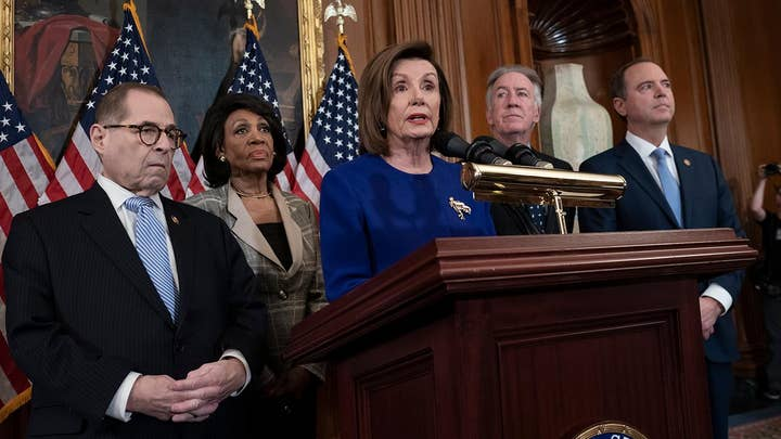 House Democrats unveil impeachment articles, alleging abuse of power and obstruction of Congress