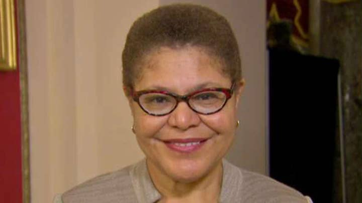 Rep. Karen Bass: I think we are 'rock solid' on impeachment vote in the house