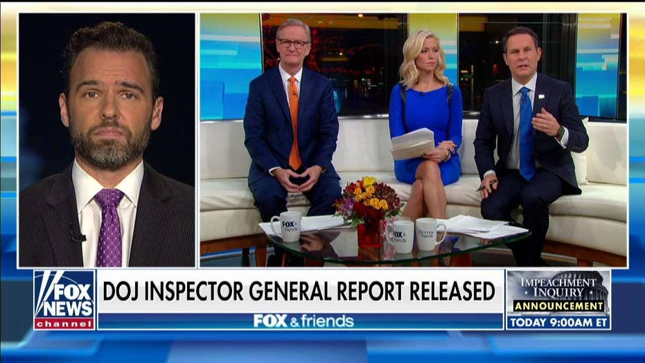 Former DOJ official: Horowitz report findings a 'big problem for America'