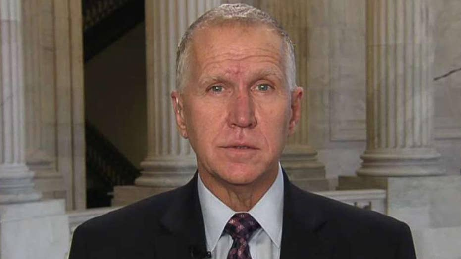 Sen. Thom Tillis previews potential impeachment trial in the Senate, Michael Horowitz's upcoming testimony