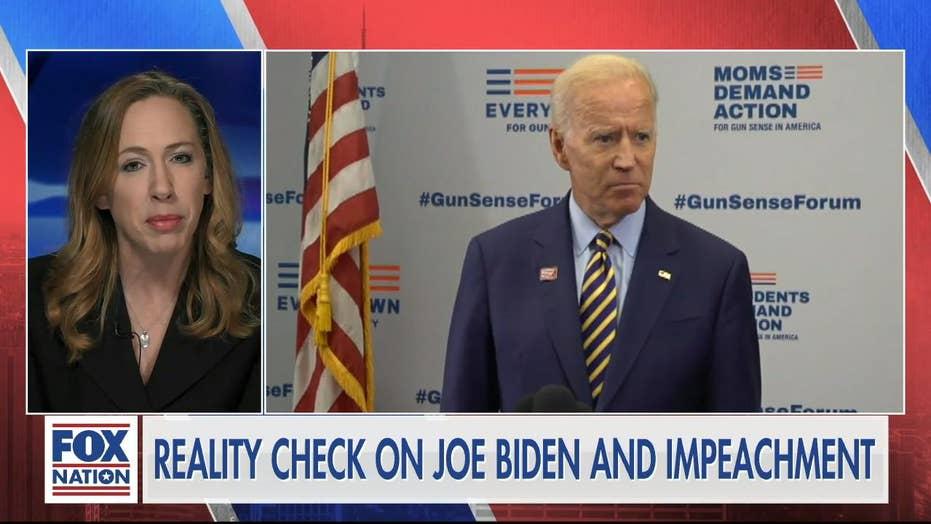 Democrats drop 'quid pro quo' from impeachment case to protect Joe Biden: Kimberley Strassel