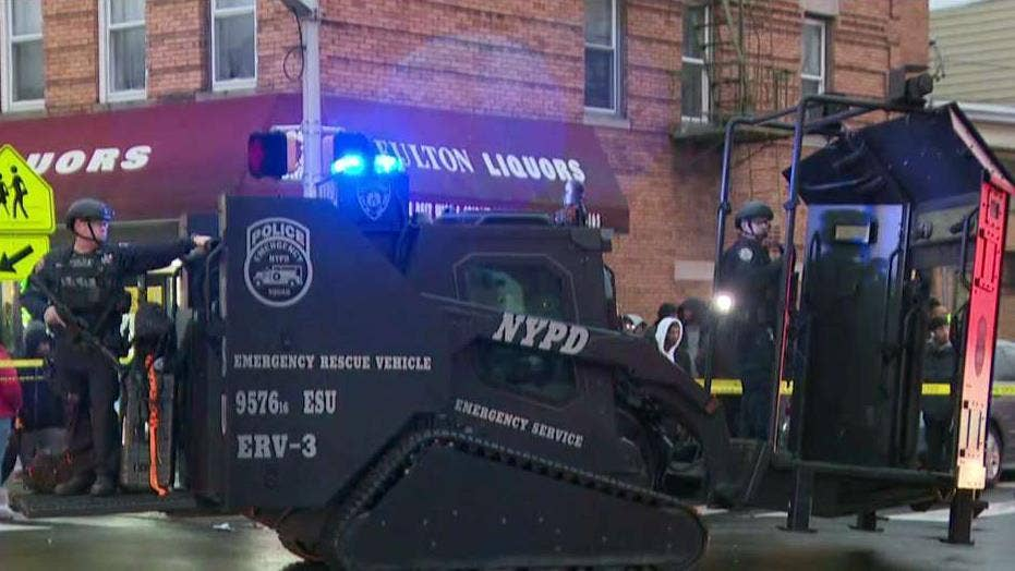 6 dead, including 1 police officer after shoot-out in Jersey City