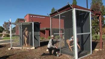 Nativity scene depicts Jesus, Mary and Joseph in cages starts public debate