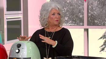 Paula Deen gets into the Christmas spirit on 'Fox & Friends'