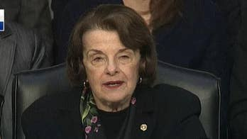 Feinstein urges Trump to reverse plan to block Iran request for $5B in IMF aid, claims it is in 'our national interest'