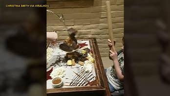 Dad ruins son's birthday pinata by punching it himself
