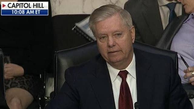 Lindsey Graham's headline: 'FBI takes law into own hands'