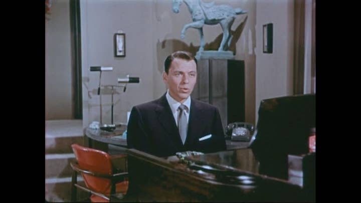 Frank Sinatra and Bing Crosby in Christmas special