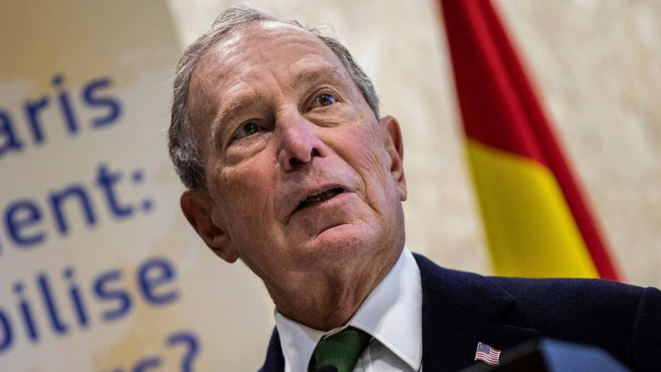 Bloomberg speaks at UN global climate conference in Madrid