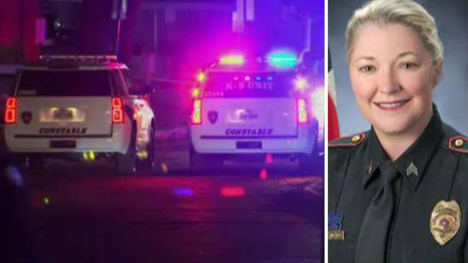 Manhunt for driver who hit Texas police sergeant and left her to die
