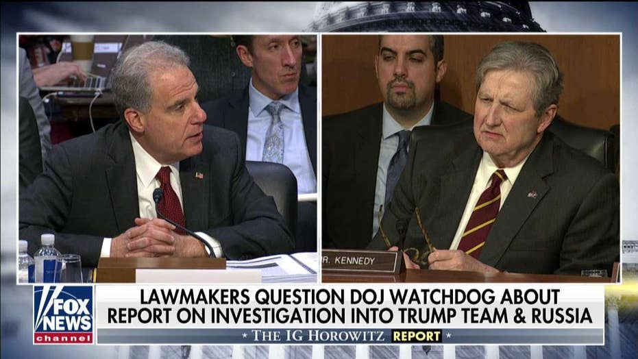 Sen. John Kennedy says he 'thought I had dropped acid' while reading DOJ IG report