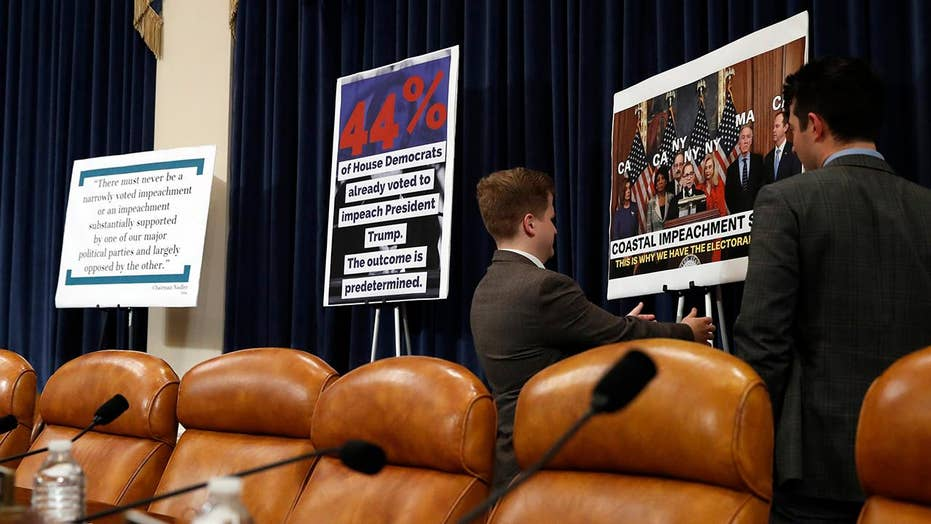 House meets to begin markup on impeachment articles