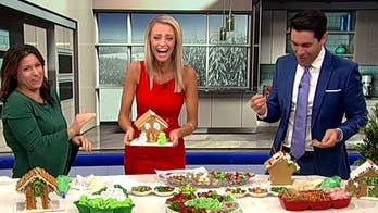 Celebrating National Gingerbread House Day with a decorating competition