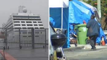 City of Oakland considers obtaining a cruise ship to house the homeless