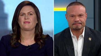 Sarah Sanders, Dan Bongino have harsh words after FISA report hearing