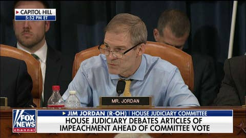 Jim Jordan: Schiff obstructing House impeachment inquiry