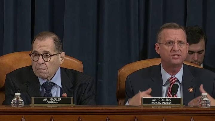 Chairman Nadler and Ranking Member Collins deliver their opening statements at impeachment markup meeting