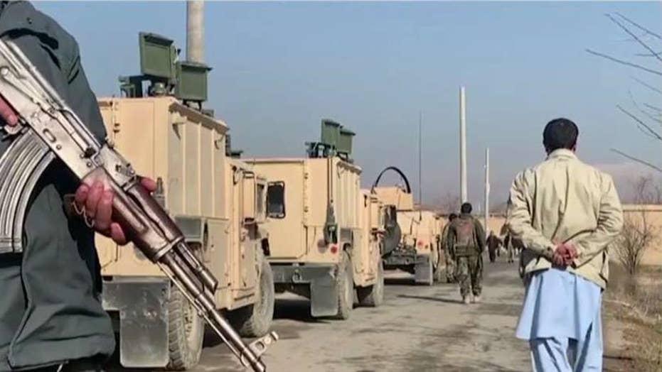 Suicide bomber hits medical facility near Bagram base