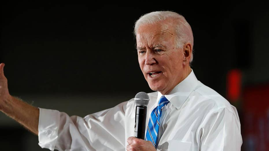 Could Biden take 2020 if he promised to only serve one term?
