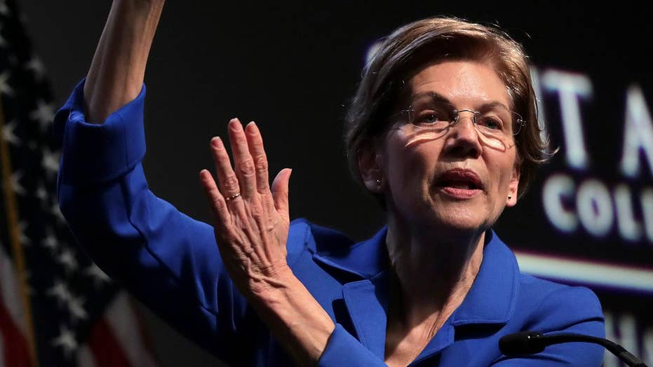 Elizabeth Warren critiques rivals in New Hampshire policy speech
