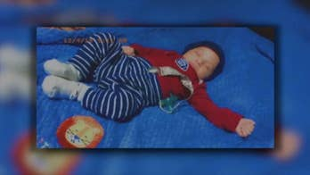 Newborn miraculously survives being throw from car during collision