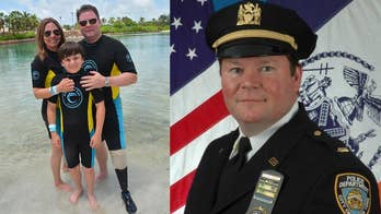Veteran amputees able to swim again with new prosthetic fin