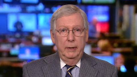 Mitch McConnell: 'No chance' Trump removed from office