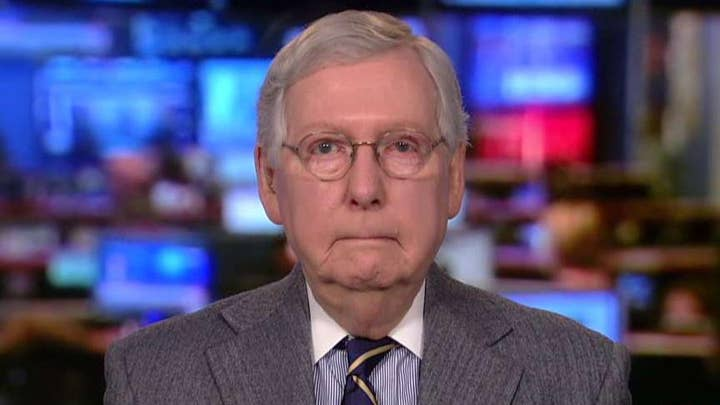 Sen. McConnell: No chance the president is going to be removed from office